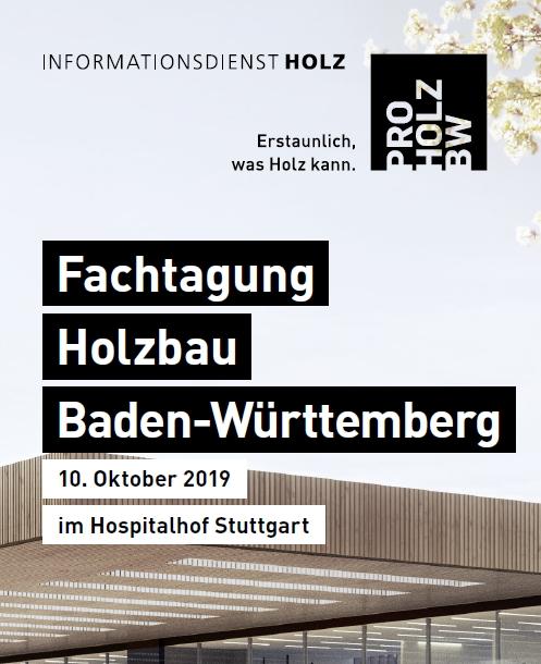 Fachtagung Holzbau Baden-Würrtemberg
