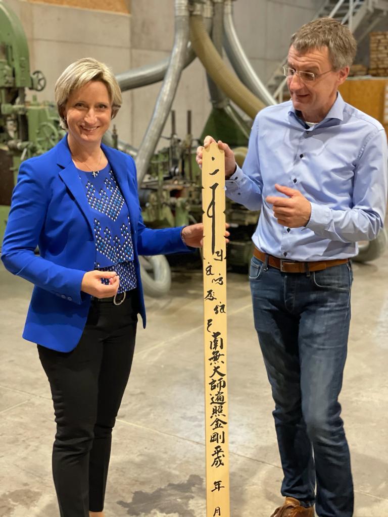Besuch von Wirtschaftsministerin Hoffmeister-Kraut